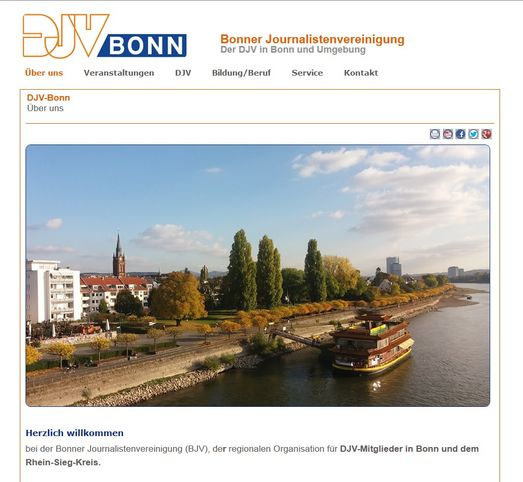Screenshot www.djv-bonn.de