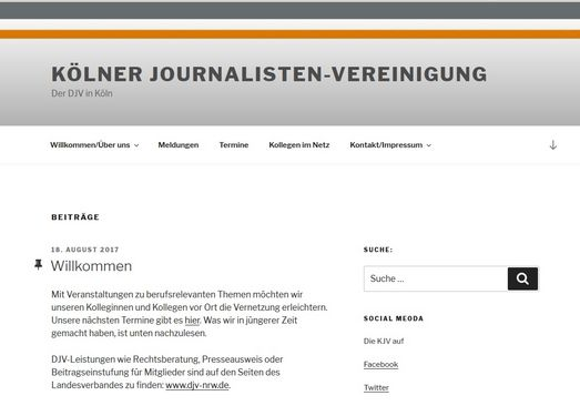 Screenshot www.djv-koeln.de