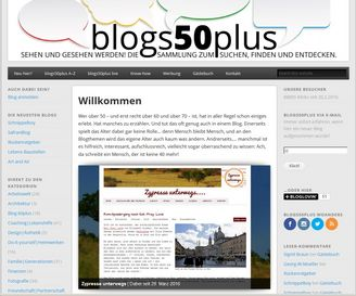Screenshot blogs50plus